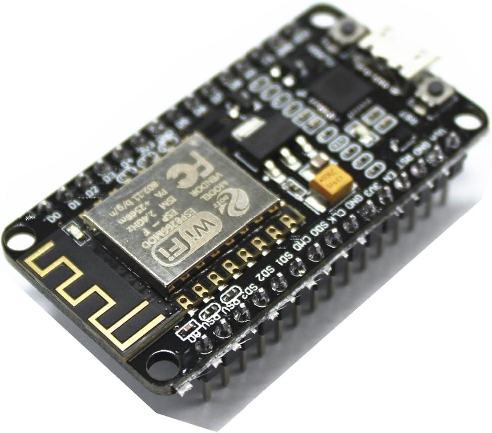 Pack of 2 Megmoki LUA WiFi Internet ESP8266 ESP-12E Development Board IOT Built-in CP2102 Compatible with Arduino NodeMCU