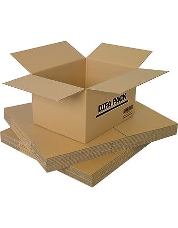 DIFA Pack de 15 Cajas de Cartón - Alta Calidad, Resistente - Cajas de Mudanza