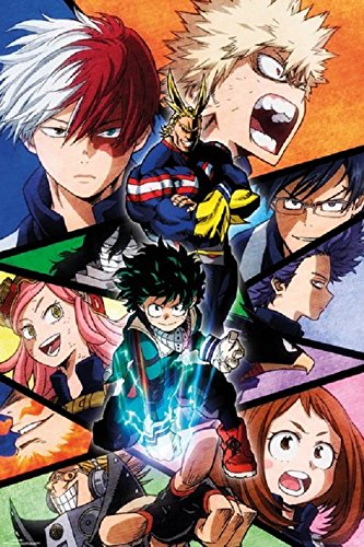 My Hero Academia Season 2 Poster,