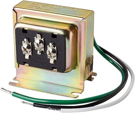 Newhouse Hardware 3tran Tri Volt 8vac 10va 16vac 10va Or 24vac 20va Transformer For Ring Nest And Standard Doorbells 1pk Assorted Amazon Com