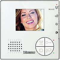 """Legrand, Classe 100 V12B Video-Innenstelle im hochwertigen Weißglas-Effekt mit 3,5"""" LED-Monitor, 344502"""