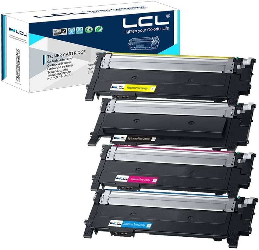 4PK Set CLT-K404S Toner for Samsung Xpress C480FW C430W C480W C480FN C430 C480