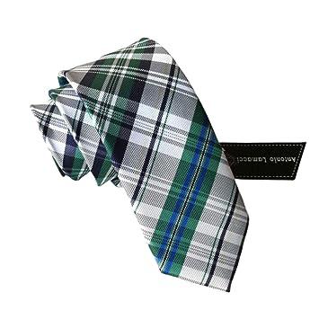 Corbata de Estilo Estrecho Corbata de Negocios de Moda de Seda de ...
