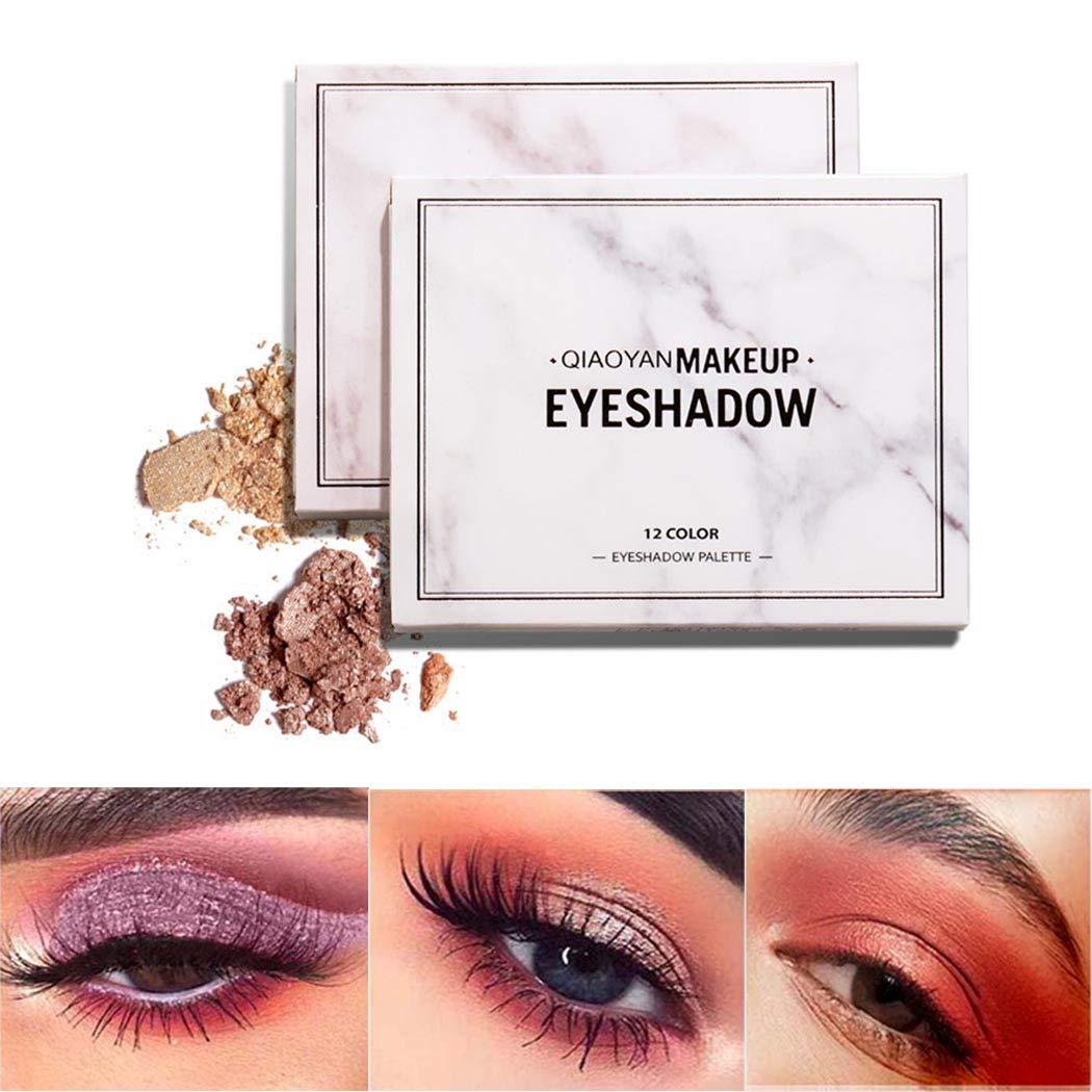 Edanta Matte Eyeshadow Palette Brown High Pigmented Eye Shadow Waterproof Eyeshadows Palette Naked Blend 9 Color Shadows Smokey Long Lasting Eyes Makeup Set for Women and Girls Pack of 1 (Pink 1)