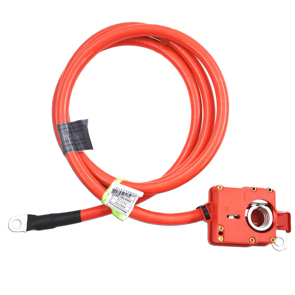 labwork-parts Positive Battery Cable SRS Fit for 2006 2007 2008 2009 2010 BMW E60 525 530 535 550 61126989780 by labwork-parts