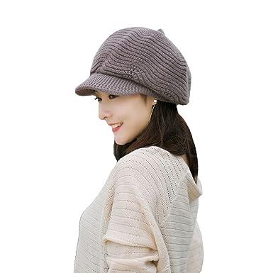 f9d4207f9d6 Khaki Cotton Peaked Cap Knitted Beret Woolen Scarf Korean Style ...