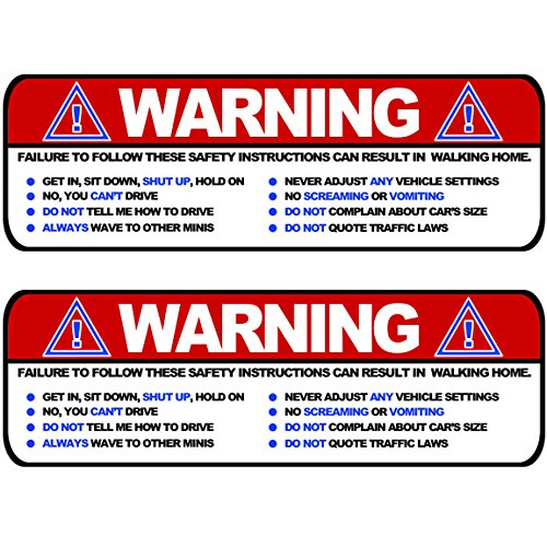 large-warning-funny-safety-rules-visor-sticker-set-for-mini-cooper