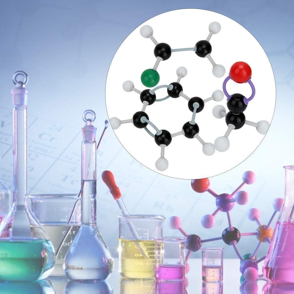 267 PCS-Chemie-Molek/ülmodell-Struktur-Kit Atom Organisches Anorganisches Struktur-Kit-Set Atom Link f/ür den Unterricht von Lehrern
