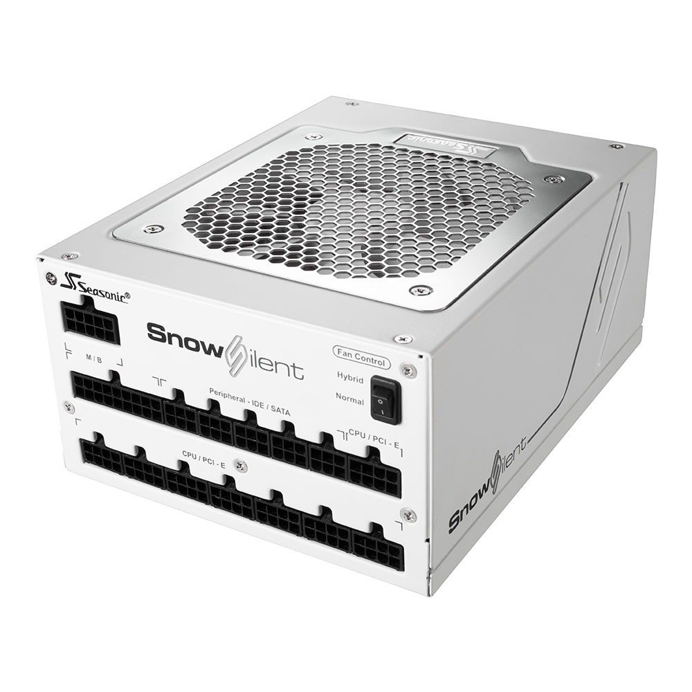 Seasonic Alimentation PC Snow Silent-1050, Blanc
