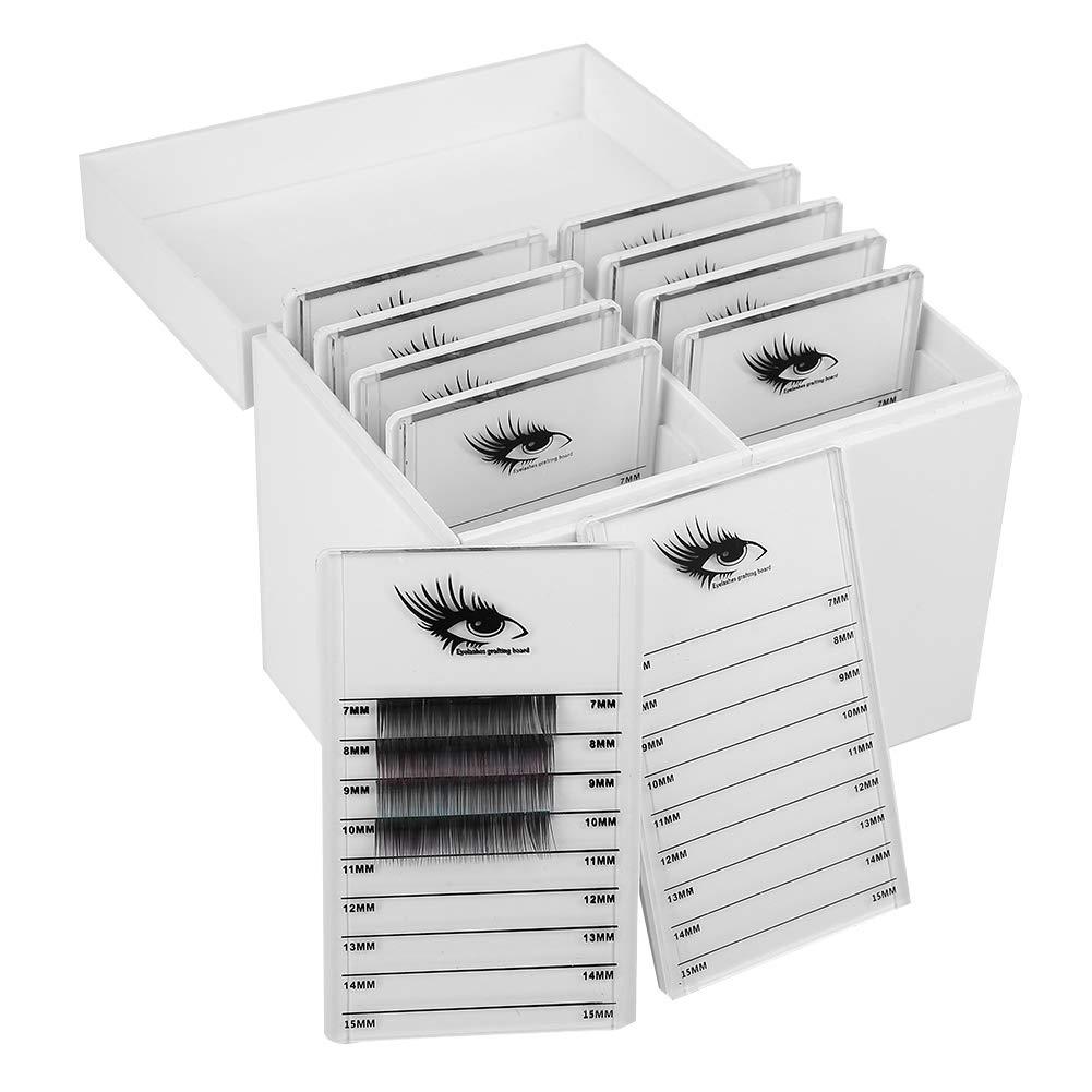 Acrylic Cosmetic Storage Makeup Organizer Clear Eyelash Storage Box Eyelashes Glue Pallet Holders 10 Layers Grafting Eyelash Extension Tool