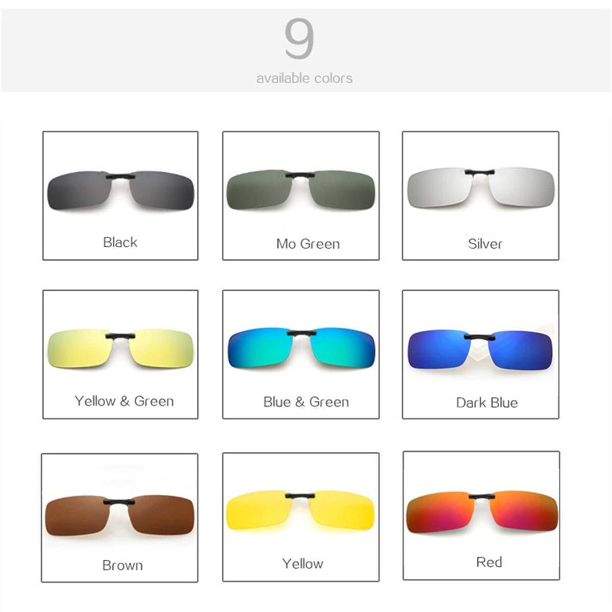 Polarized Sunglasses Man Clip On Myopia Eyeglasses Men Frameless Sun Glasses