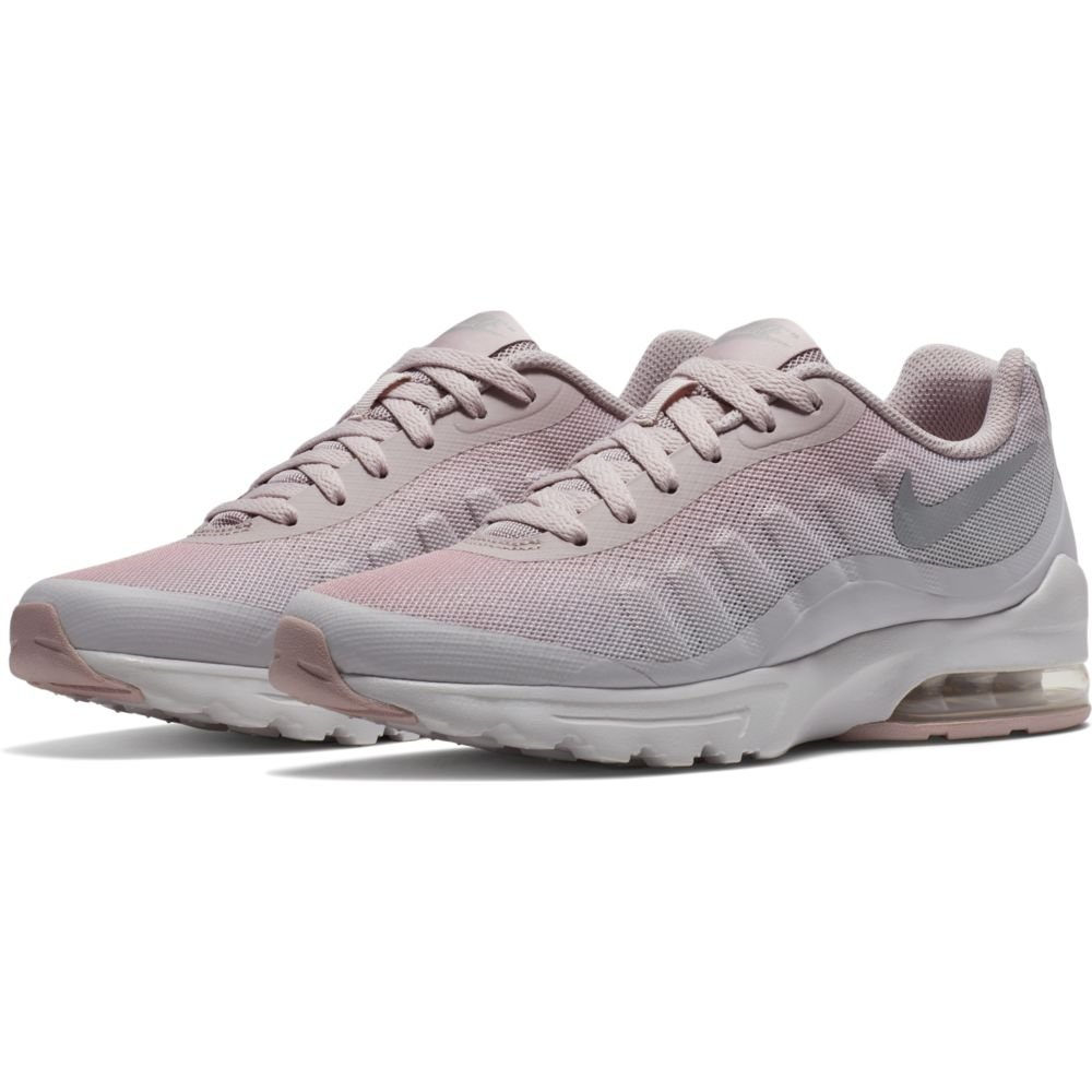 NIKE Women's Air Max Invigor Print Running Shoe B0733WVY7K 10 B(M) US|Vast Grey/Metallic Silver-particle Rose