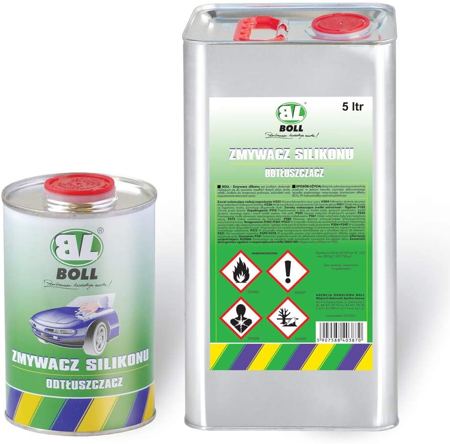 Ballero Boll 5 Liter Silikonentferner Siliconentferner Entfetter Reiniger 0030021 Auto
