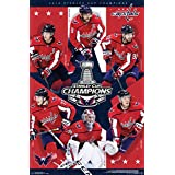 "Trends International 2018 Stanley Cup-Washington Capitals Champions Wall Poster, 22.375"" x 34"", Multi"