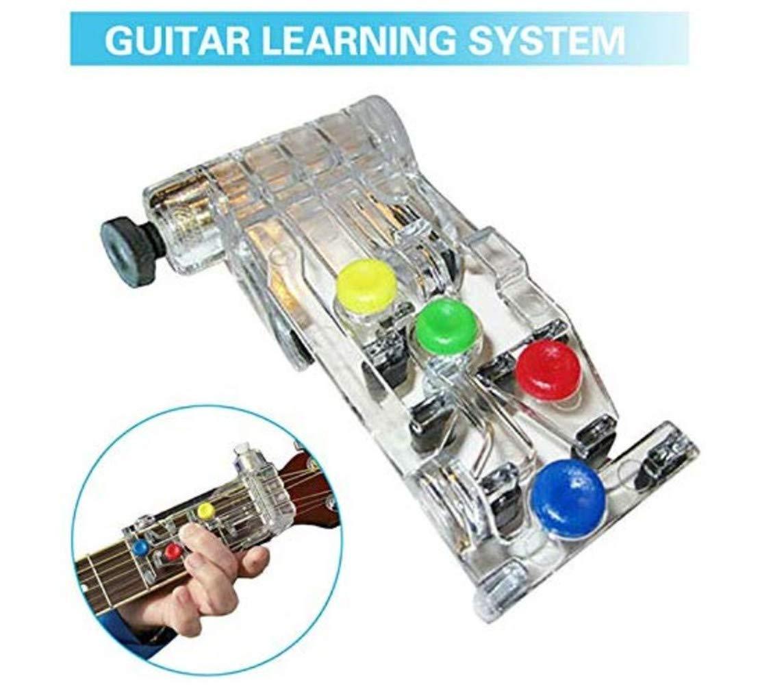 Aiuto per linsegnamento di accordi Chitarra Classica LAYLXY Sistema di apprendimento per Chitarra Sistema di per sussidi di insegnamento Accessori per lapprendimento della Chitarra 1pcs