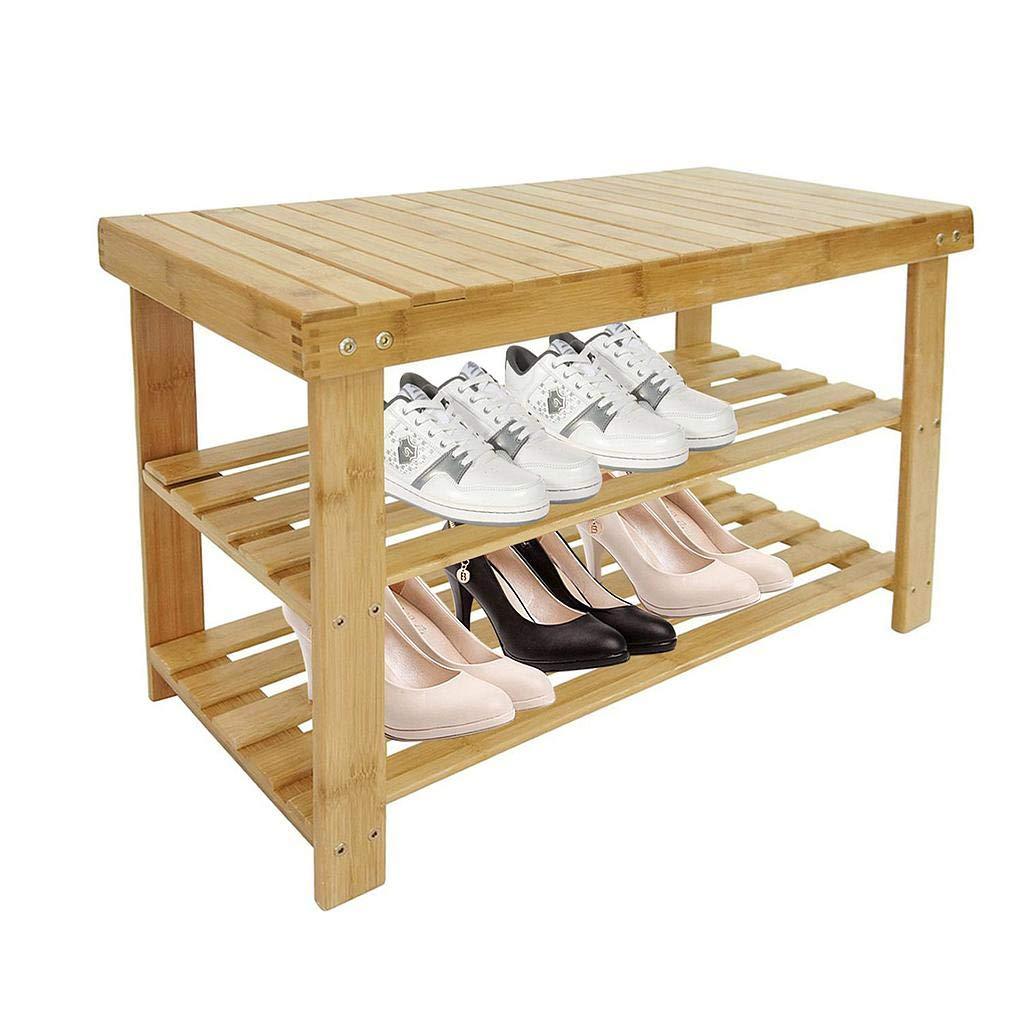 Organizador de Zapatos de Bambú