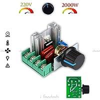 1neiSmartech Regulador De Potencia Motor Regulador Velocita 'Ventilador
