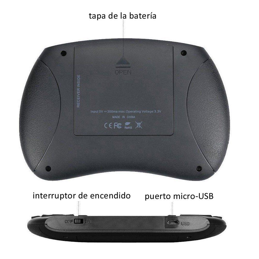 iPazzPort Mini Teclado Inalámbrico (Layout Español): Amazon.es: Electrónica