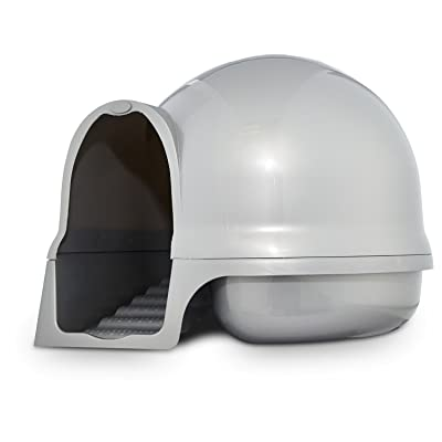 Booda Clean Step Litter Box in Pearl Dove