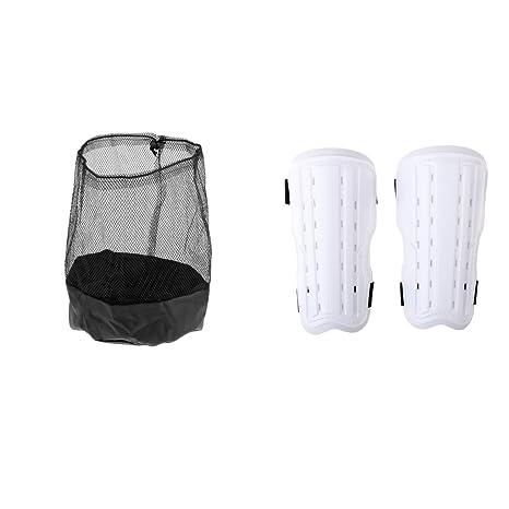 Soccer Football Training Aid Nylon Mesh Drawstring Bag Filed Marker Storage