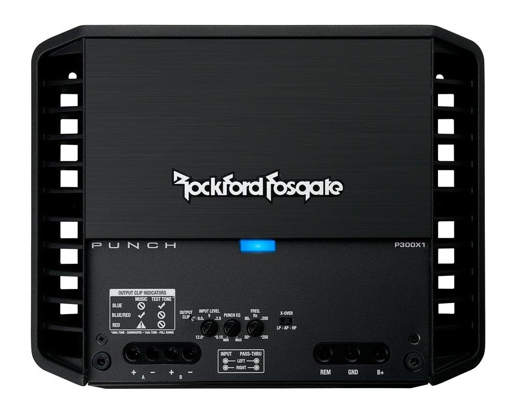Amazon.com: Rockford Fosgate P300X1 Punch 1-Channel Mono Block Amplifier: Car Electronics