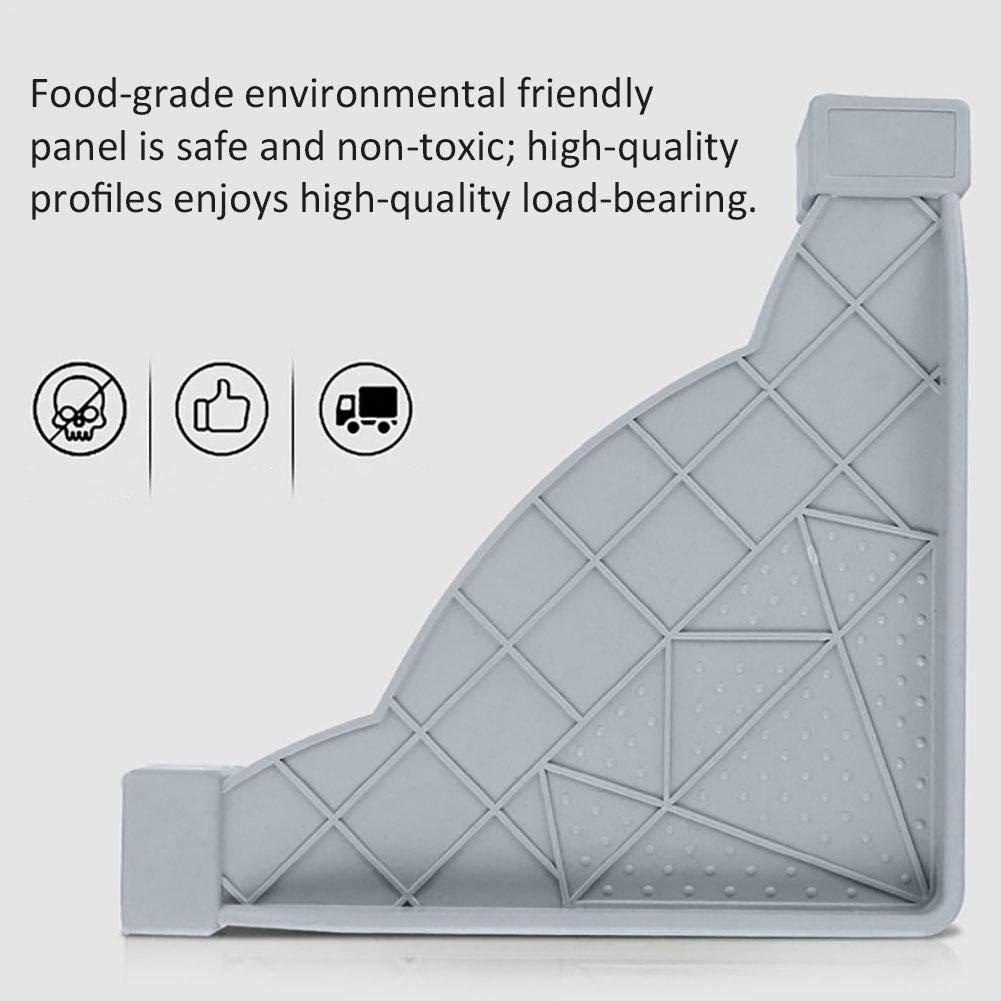 Refrigerators /& Freezers Luerme Stainless/Steel/Refrigerator/Pedestal Washing/Machine/Base/with 4 Adjustable Feet /Refrigerator Floor Frame Support Bracket Shelf/Holder/Stand for Dryers
