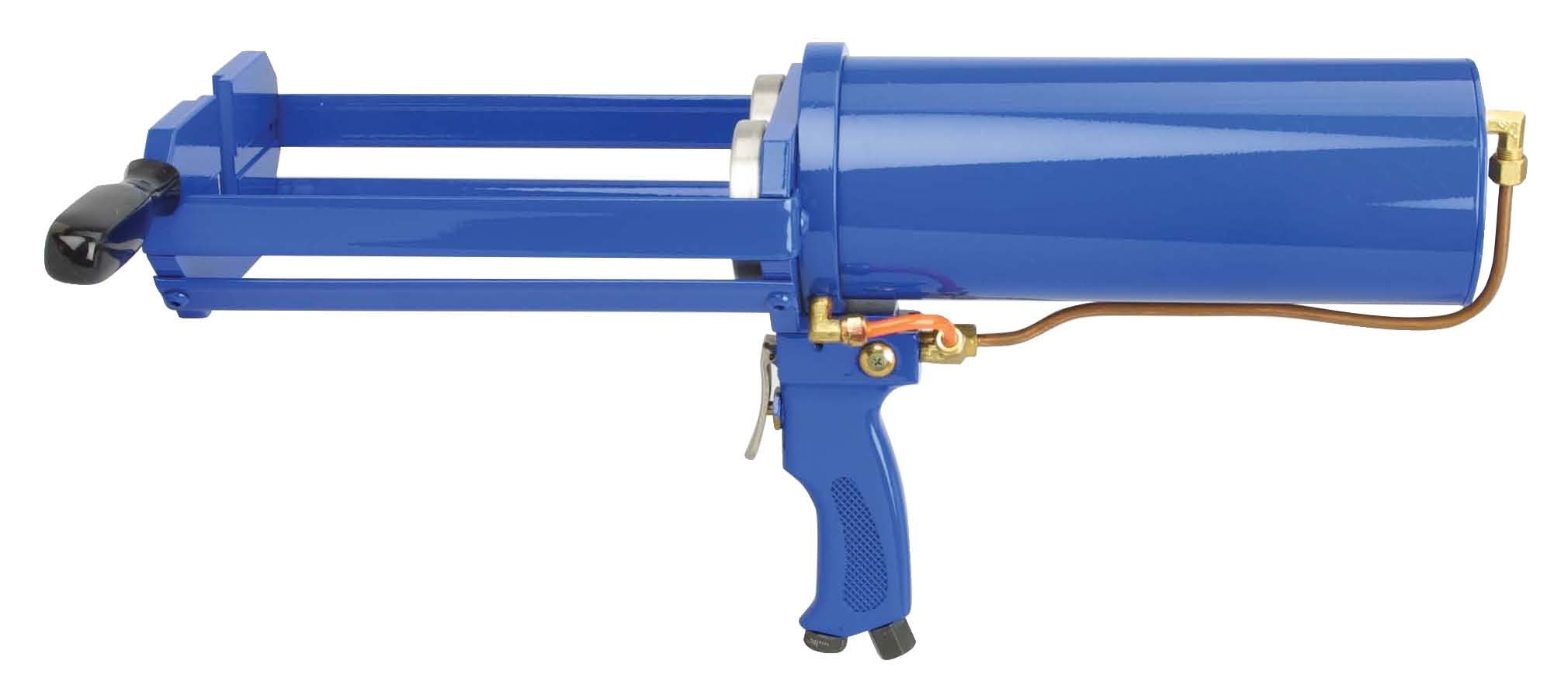 Wellmade Tools AG-400 Dual Cartridge Pneumatic Applicator, 750ml  x 750ml