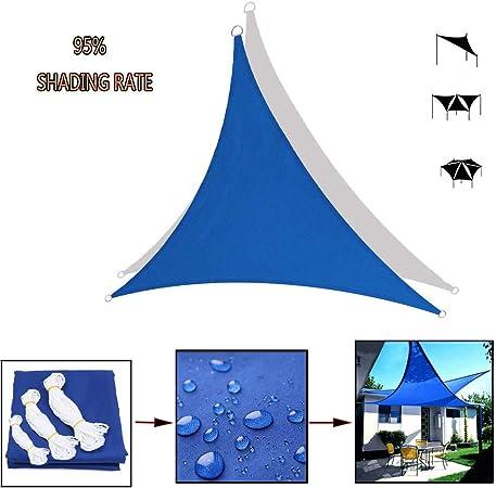 Vela De Sombra - Toldo Vela Triangular- Tela Impermeable 95% De Tasa De Sombreado,para Cubierta, Patio, Pergola Decking,Patio Trasero Al Aire Libre Mantener Fresco,Vela Solar 2x2: Amazon.es: Hogar