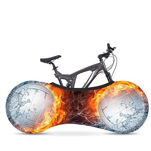 La Mejor Soluci/ón para Mantener Su Interior Limpio para Bicicletas De Adultos,A Wooden fish Funda Bici para Interiores Funda para Bicicleta Exterior Cubierta Interior De Bicicleta
