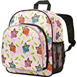 Wildkin 12 Inch Backpack, Includes Insulated, Food-Safe Front Pocket and Side Mesh Water Bottle Pocket, Perfect for Preschool, Daycare, and Day Trips – Owls
