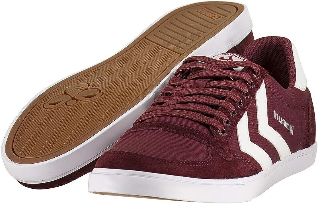38 EU 5 UK Unisex Adults/' Low-Top Sneakers Red Cabernet 3661 Hummel Slimmer Stadil Low