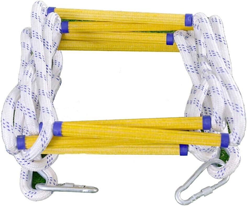 pour Jouets de Fitness Entra/înement pour Parcours dobstacles Size : 10 /Échelle de corde /Échelle d/évacuation Anti-d/érapage R/ésine Anti-incendie 3 /à 30 M/ètres Secours de r/ésine /échelle