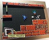 Mega Man 4 Diorama (Framed Artwork) NES