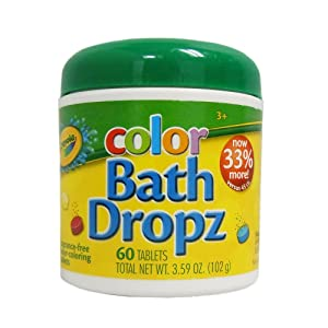 Best Crayola Color Bath Dropz 3.59 Ounce toys for 3 year olds
