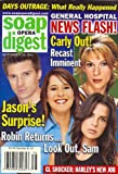 Steve Burton, Kelly Monaco, Kimberly McCullough, Jennifer Bransford, General Hospital, Robin Strasser, Emily Harper - September 20, 2005 Soap Opera Digest Magazine