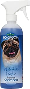 Bio-Groom Waterless Cats and Dog Bath Shampoo, 16-Ounce
