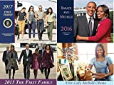 Barack & Michelle & First Family (2017,2016,2015) ''12 Page Calendar - Gift Set