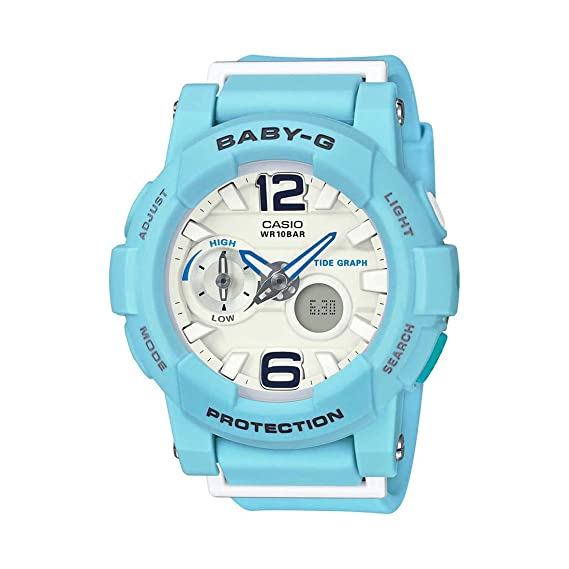 940182209310 Buy Casio Baby-g Analog-Digital White Dial Women's Watch - BGA-180BE-2BDR  (BX078) Online at Low Prices in India - Amazon.in