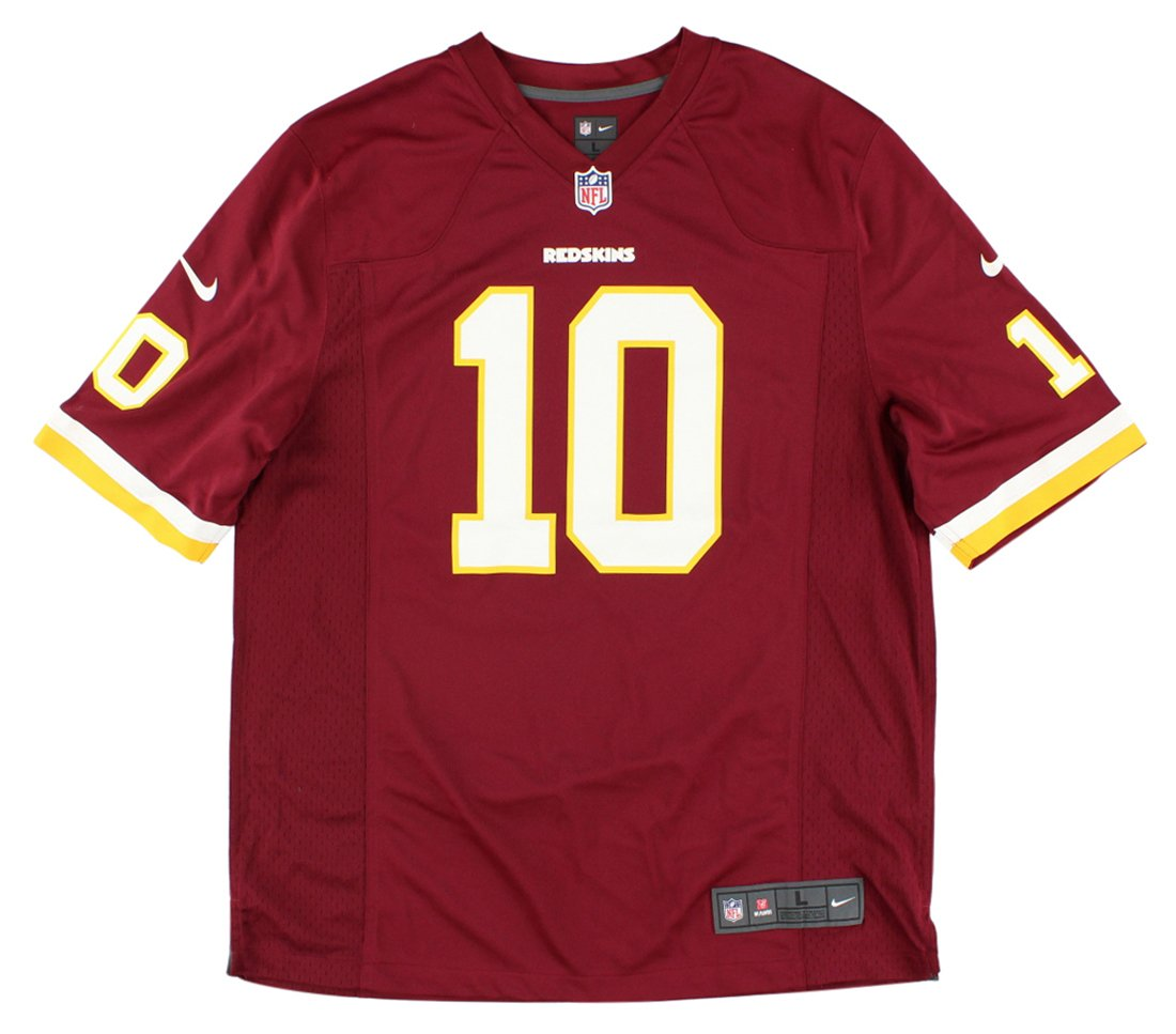 new concept d82db 57499 Robert Griffin III Number 1 Draft Pick Jersey: Home Burgundy Game Nike  Elite Washington Redskins Jersey