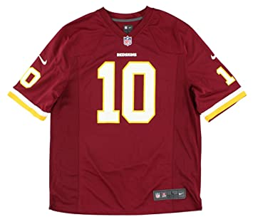 new concept 98de4 2ef1b Robert Griffin III Number 1 Draft Pick Jersey: Home Burgundy Game Nike  Elite Washington Redskins Jersey