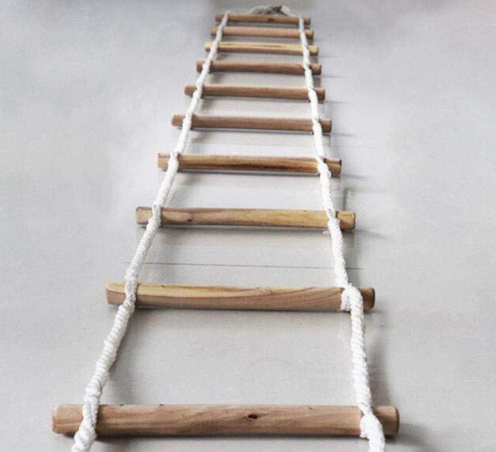 Escalera De Escape De Incendios De 15 M Escalera De Rescate Suave Cuerda Trabajo De Emergencia Respuesta De Seguridad Auto-Rescate Escaleras Antideslizantes para El Hogar Al Aire Libre: Amazon.es: Jardín