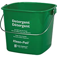 San Jamar KP97GN Kleen-Pail Commercial Cleaning Bucket, 3 Quart, Green