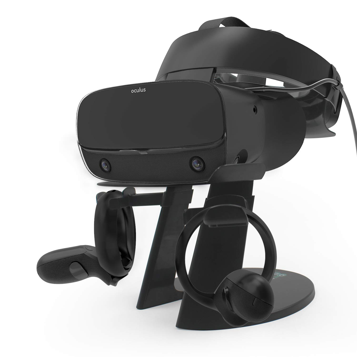 AFAITH VR Stand, VR Headset Display Stand with Game Controller Holder for Oculus Rift S/Oculus Quest/Rift Headset and…
