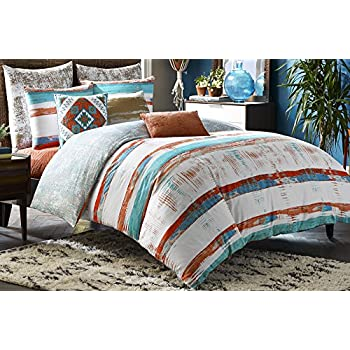 Blissliving Home 14826BEDDKNGMUL Siesta 110 Inch By 96 Inch 3 Piece King  Duvet Set