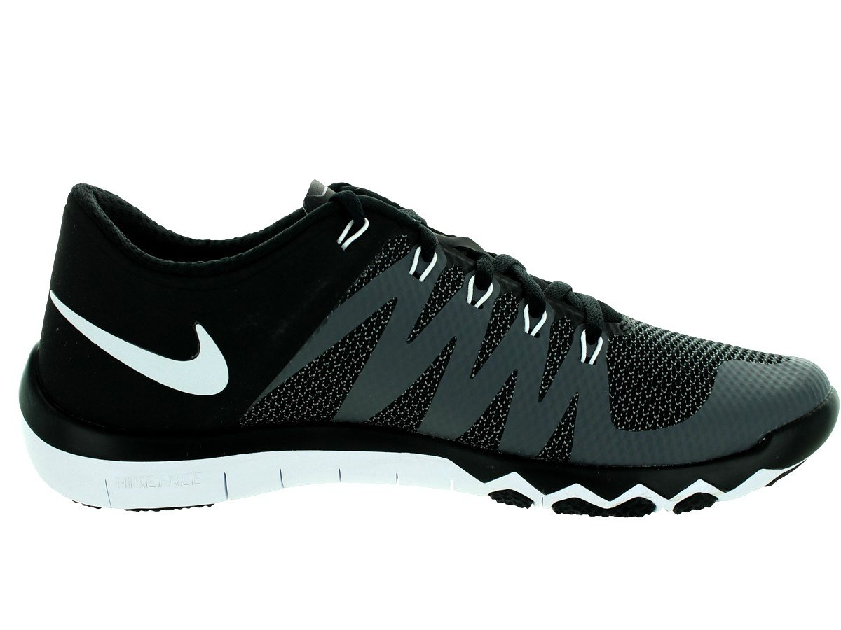 info for 20111 2c223 Nike Men's Free Trainer 5.0 V6 Training Shoe Black/Dark Grey/Volt/White  Size 13 M US