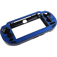 Baoblaze Funda Protectora de Aluminio Carcasa de Piel dura para Sony PS Vita PSV 1000 de Color Diferente - Azul