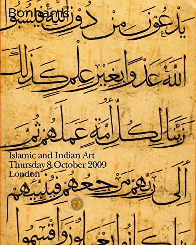BONHAMS Islamic and Indian Art Thursday 8 October 2009. New Bond Street London. PDF