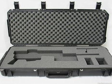 Cabelas - Funda rígida de espuma para rifle de precisión Ruger plegado con alcance (solo