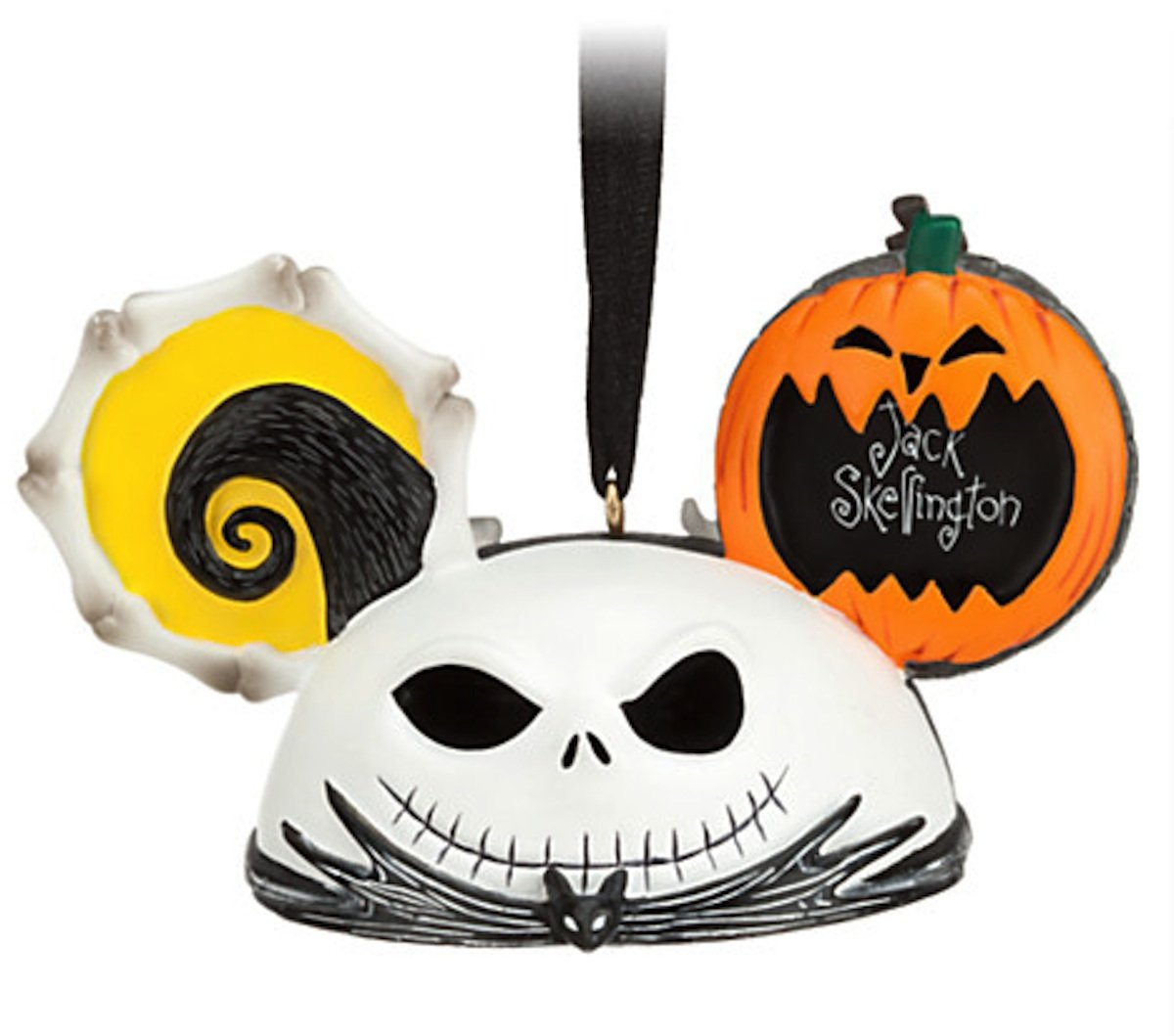 Amazon.com: Jack Skellington and Zero Ear Hat Disney Ornament ...