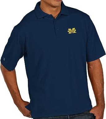 Miami Hurricanes NCAA Setter Mens Performance Polo Shirt